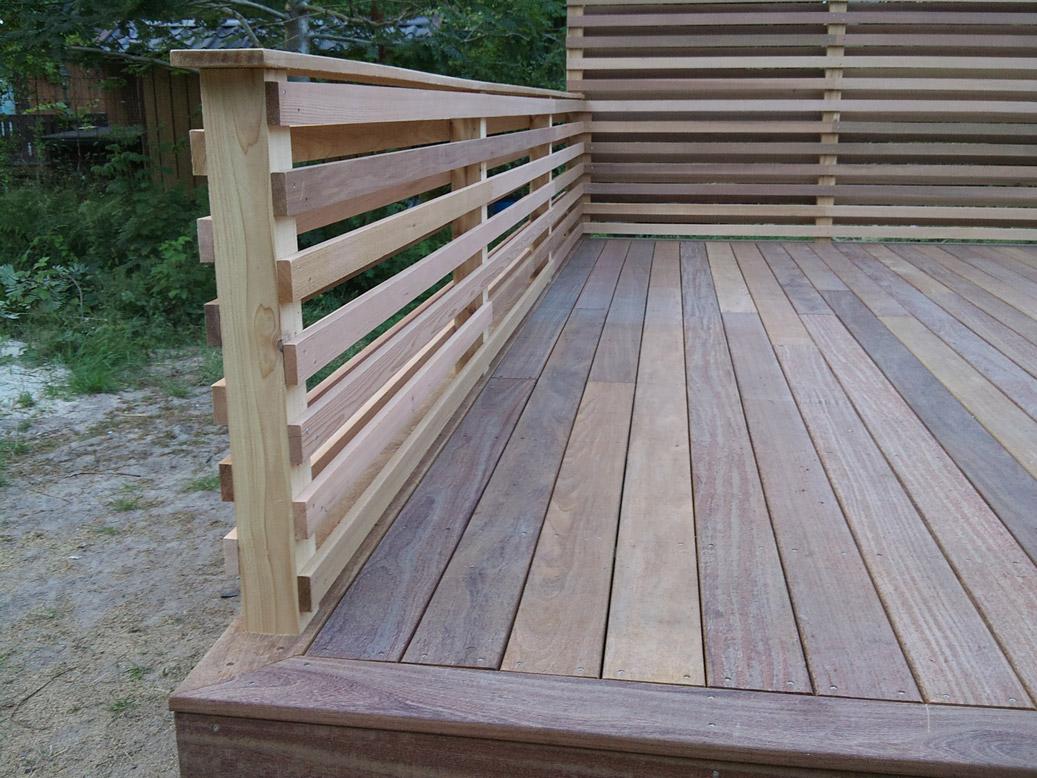 Cederträ staket trall