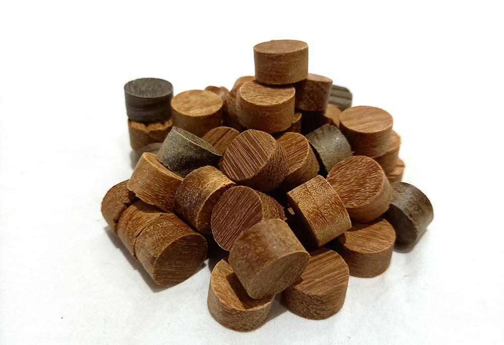 träplugg till cederträ, cumaru och ipe