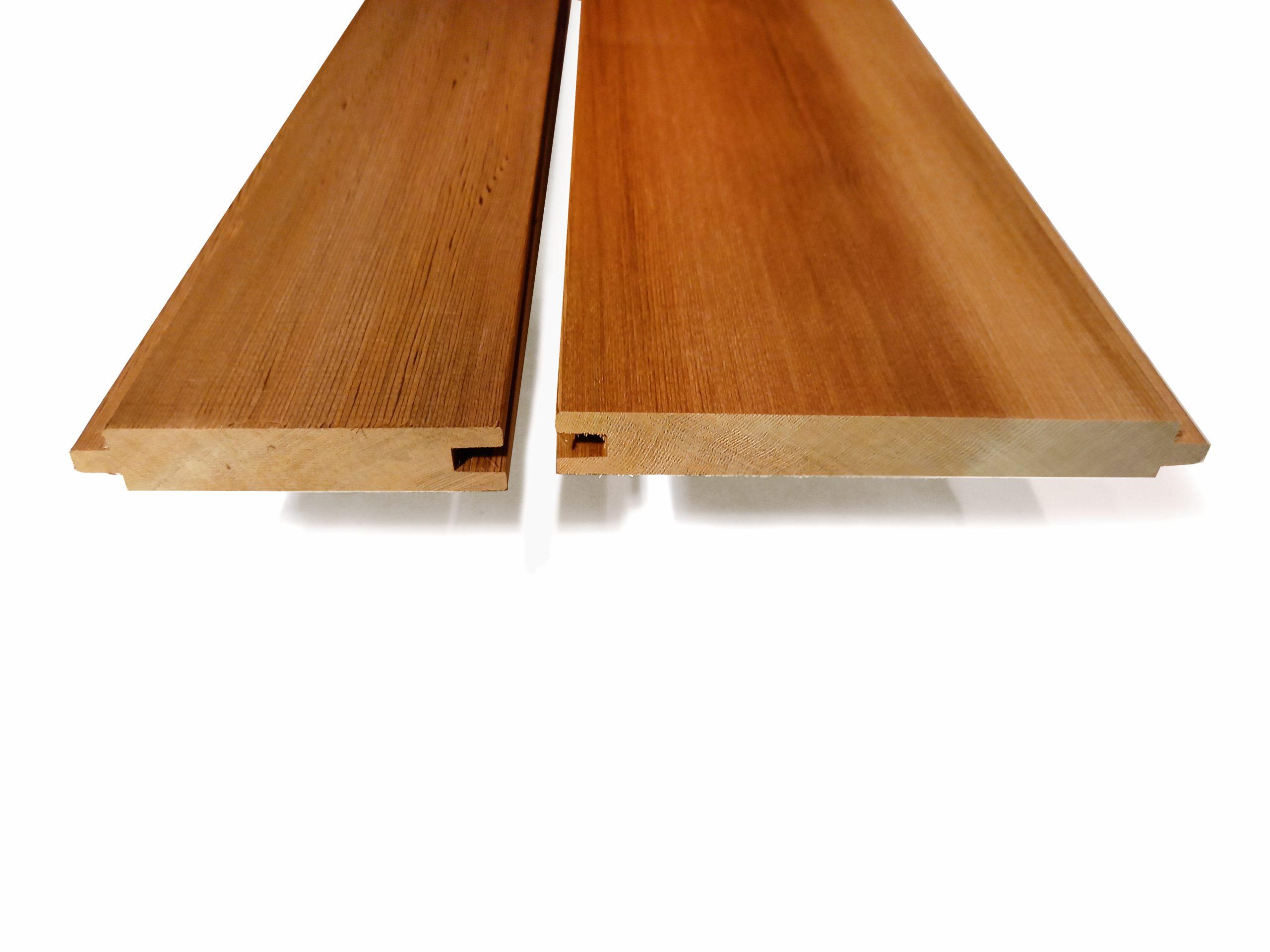 Cederträ panel - cederpanel profil